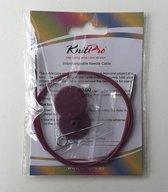 Knitpro verwisselbare kabel voor rondbreinaalden 80 cm