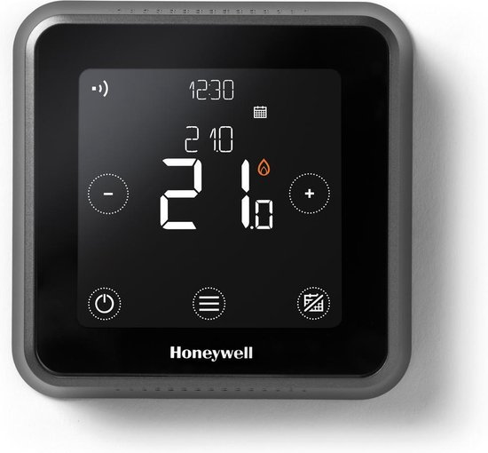 Honeywell Lyric T6 Slimme Thermostaat Zwart - Bedraad