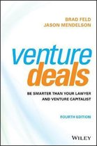 Boek cover Venture Deals van Brad Feld (Hardcover)