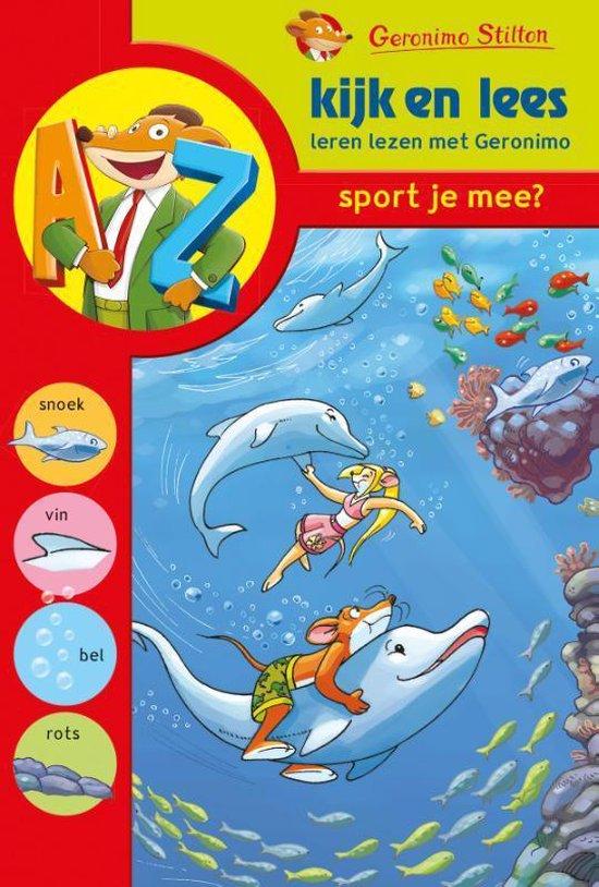 Kijk en Lees - Sport je mee? - Geronimo Stilton | Readingchampions.org.uk