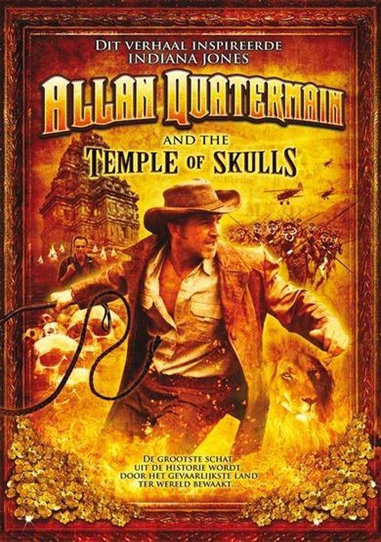 Cover van de film 'Allan Quatermain And The Temple Of Skulls'