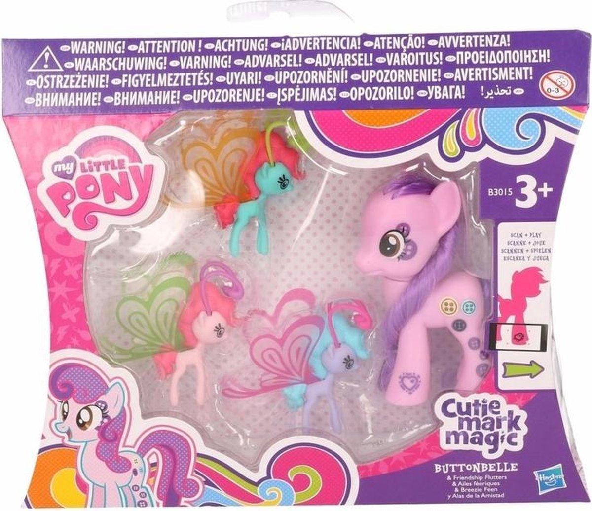 Plastic My Little Pony Buttonbelle 8 cm - My Little Pony