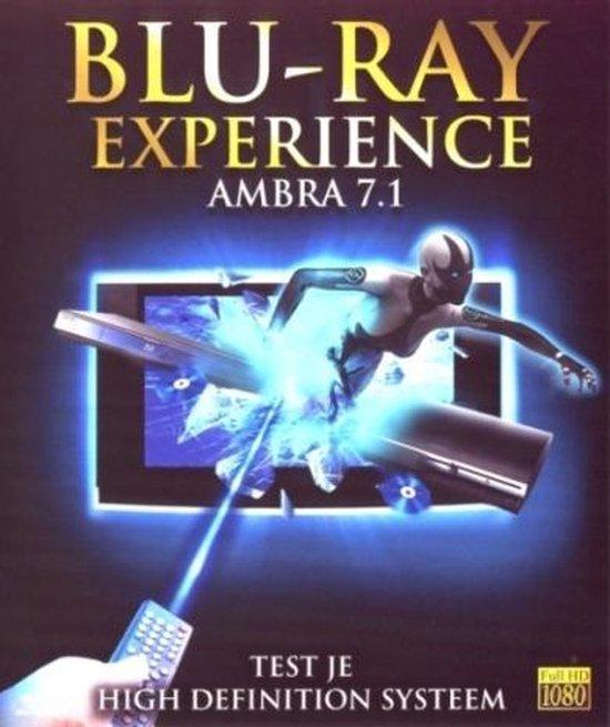 Cover van de film 'Ambra 7.1 Bluray Experience'
