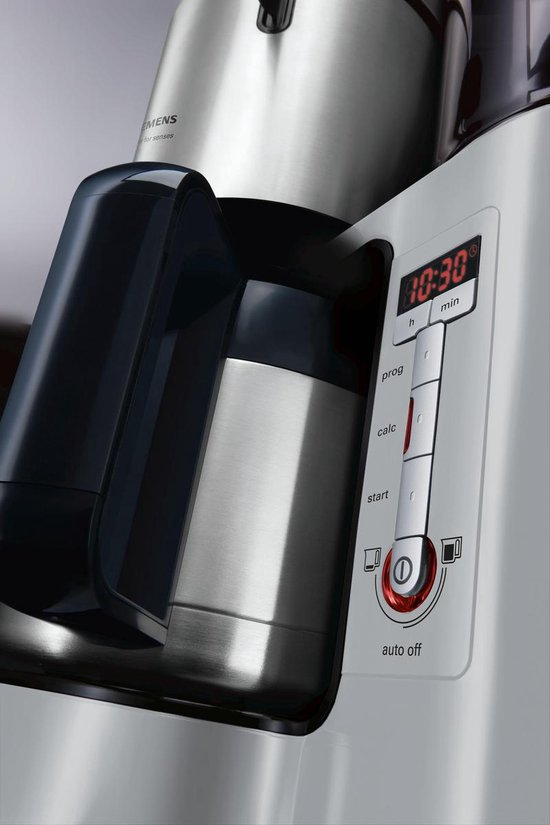 Siemens AromaSensePlus TC86505 - Koffiezetapparaat - Grijs