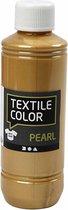 Creotime Textil Color Pearl Textielverf Goud - 250 ml