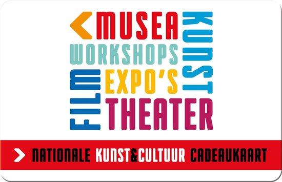 Nationale Kunst & Cultuur cadeaukaart - 90 euro