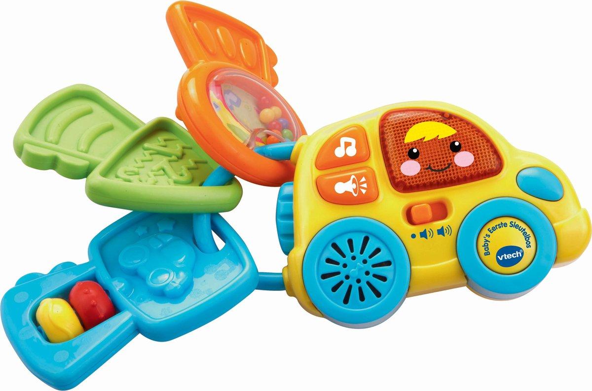 VTech Baby Baby's Eerste Sleutelbos - Grijpspeelgoed - VTech