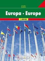 Europa Wegenatlas F&B