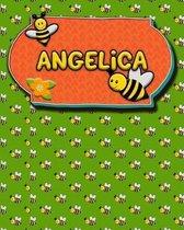 Handwriting Practice 120 Page Honey Bee Book Angelica