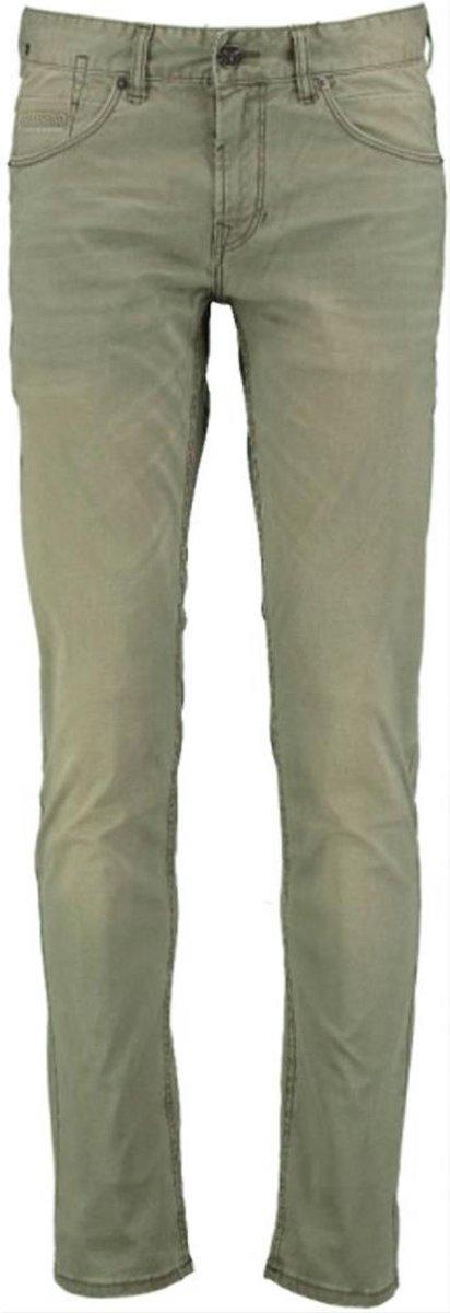 PME Legend - Heren Jeans Nightflight Pigment Printed Dobby - Groen - Maat 31/34
