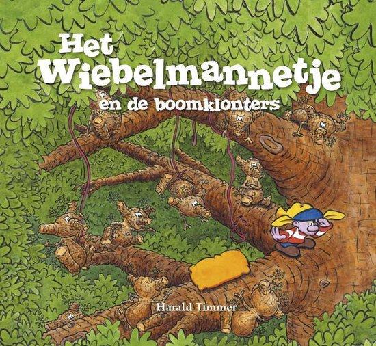 Het wiebelmannetje - Het wiebelmannetje en de boomklonters - Harald Timmer |