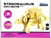 Lopende 3D Stegosaurus Houten Puzzel