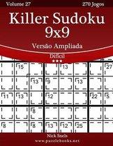 Killer Sudoku 9x9 Vers o Ampliada - Dif cil - Volume 27 - 270 Jogos