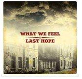 What We Feel Last Hope - Split