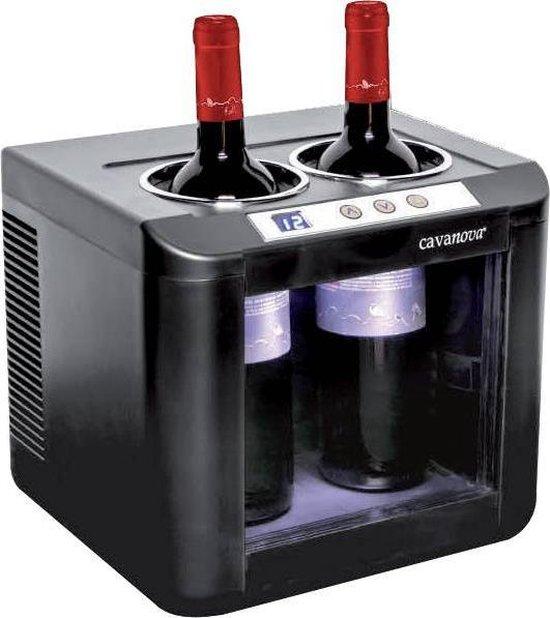Koelkast: Cavanova OW002 Open Wijnkoelerkoeler 2 flessen, van het merk Cavanova