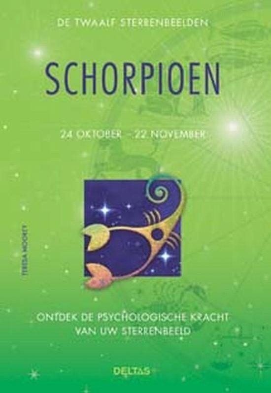 Cover van het boek 'De twaalf sterrenbeelden / Schorpioen'
