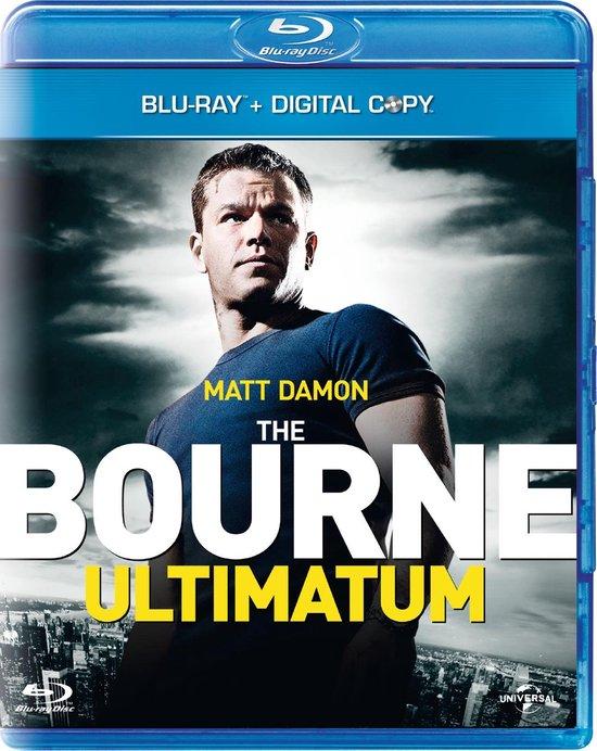 Cover van de film 'The Bourne Ultimatum'