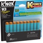 K'NEX K-FORCE Dart Pack + Target - 10 Stuks