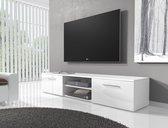 Meubella TV-meubel Basura I - Wit - 160 cm