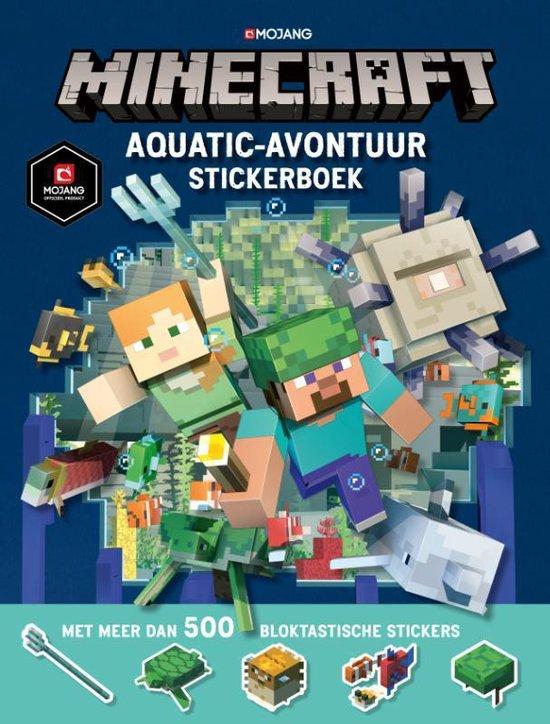 Minecraft Aquatic Survival stickerboek - none pdf epub