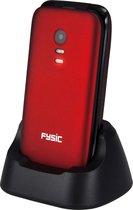 Alecto FM-9710RD Senioren mobiele klaptelefoon - SOS Noodknop, Camera 1.3 megapixel, Grote toetsen