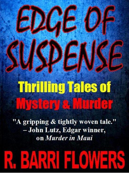 Omslag van EDGE OF SUSPENSE: Thrilling Tales of Mystery & Murder