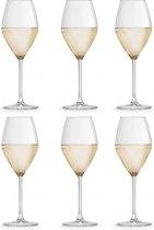 Libbey Wijnglas – Iduna – 34 cl / 340 ml - 6 stuks - elegant design - hoge kwaliteit - vaatwasserbestendig