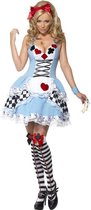 Alice in Wonderland kostuum | Jurkje met speelkaarten | Dames maat L (44-46)