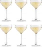 Libbey Champagneglazen Iduna - 300 ml - 6 stuks - Elegant - Hoge kwaliteit - Vaatwasserbestendig