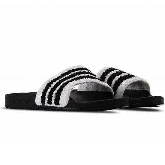 bol.com   Adidas Adilette Heren Slippers Zwart / Wit BB0125 ...