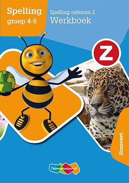 Z-Spelling 2 Spelling oefenen groep 4-5 Werkboek - Marielle van der Borgh |