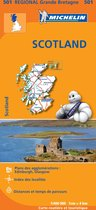 Regionaal kaart 501 Schotland