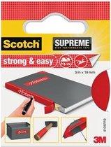 3M Strong & Easy 4105R19 Textieltape Scotch Rood (L X B) 3 M X 19 Mm 1 Rollen