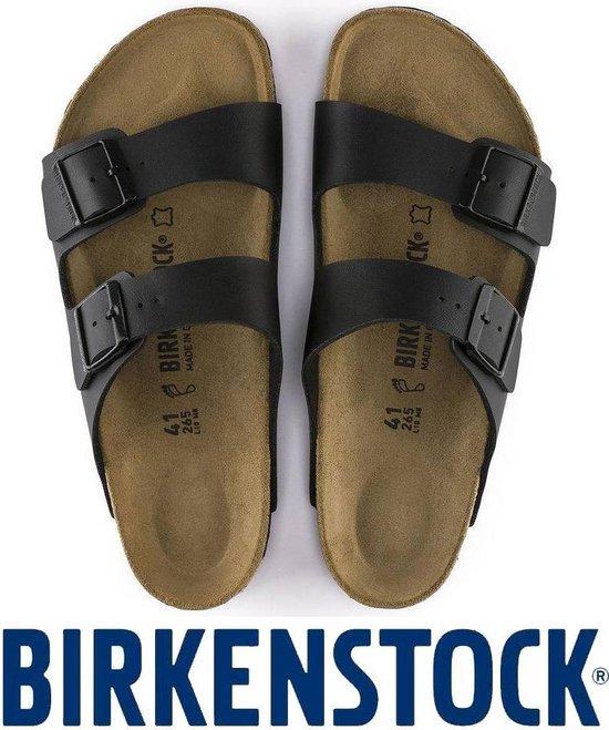 Heren schoenen   Birkenstock Arizona zwart sandalen heren 051791