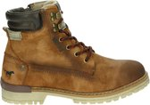 Mustang heren veterboot - Cognac