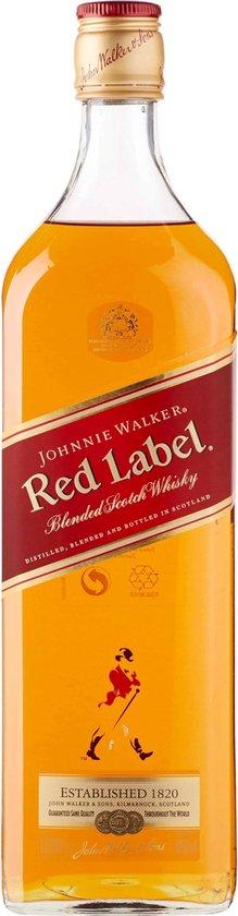 Johnnie Walker Red Label Whisky - 1 L
