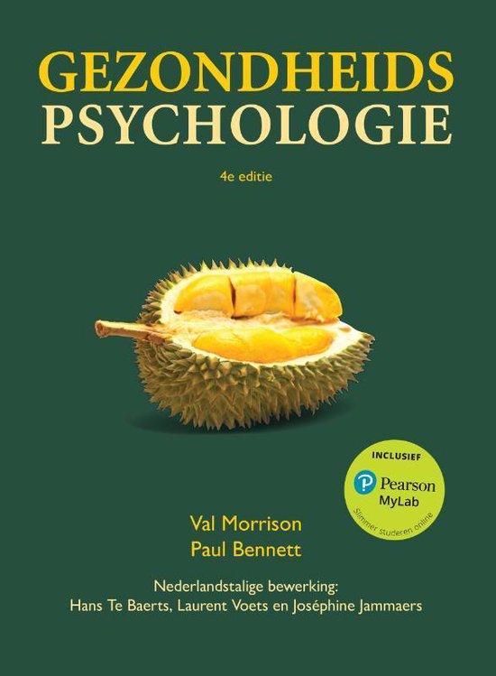 Gezondheidspsychologie - Val Morrison  