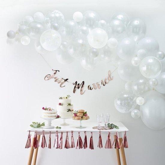 Ballonnenboog Kit - Wit