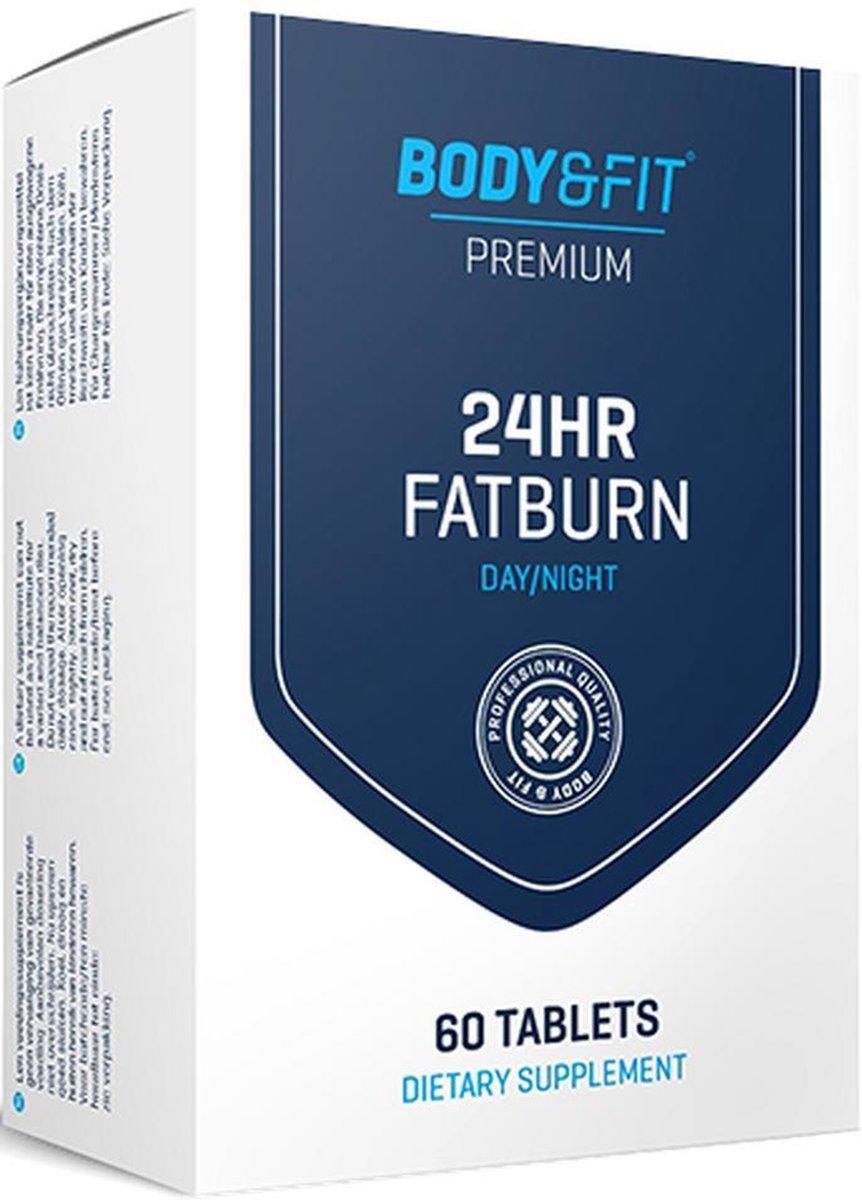 Body & Fit  24hr Fatburn Vetverbrander - 60 Tabletten - Maandverpakking