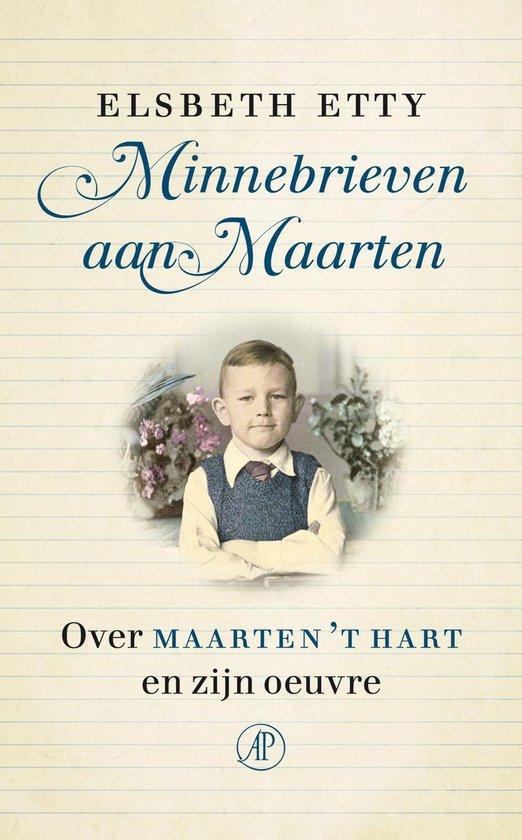 Boek cover Minnebrieven aan Maarten van Elsbeth Etty (Hardcover)