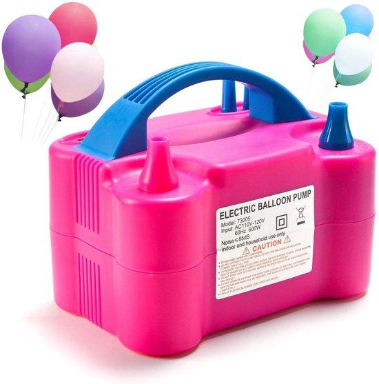 Elektrische Ballonnenpomp - Bedienbare en Automatische Opblaastuiten - 600W - Snel Ballonnen Opblazen