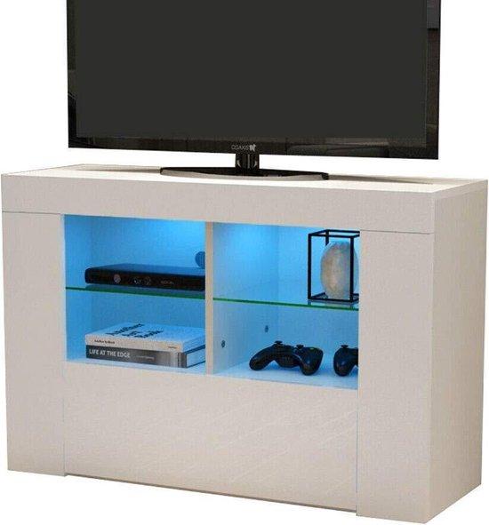 Tv Kast Voor Slaapkamer.Bol Com Tv Meubel Kast Media Meubel Game Set Up Led