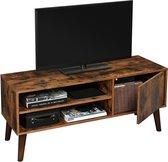 Vasagle TV-Kast Vintage - TV-Meubel Industrieel - TV-Tafel Retro