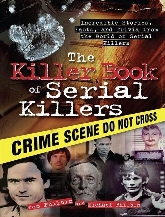 Omslag van Killer Book of Serial Killers
