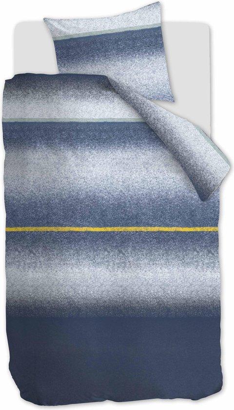 At Home by Beddinghouse Camden Dekbedovertrek – Katoen – 140×200/220 cm – Blauw