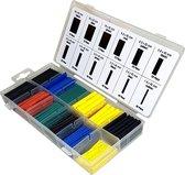 280 Delig krimpkous set kleur assortiment in opberg box