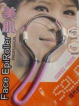 Epiroller - Voor het verwijderen van gezichtshaar - Geen batterijen nodig!