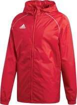 Adidas Core 18  Sportjas Heren - Power Red/White - Maat XL
