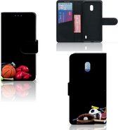 Nokia 2.2 Wallet Case met Pasjes Sports