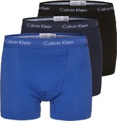 Calvin Klein Boxershorts - Heren - 3-pack - Blauw/Zwart/Navy - Maat L